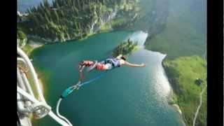 2012 - European Escapade - Switzerland - Interlaken - Skydiving - 134 meter bungy jump - Canyoning