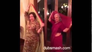 Salman khan, Sonakshi Sinha and Bajrangi Bhaijaan Munni Harshali Malhotra Dubsmash Video
