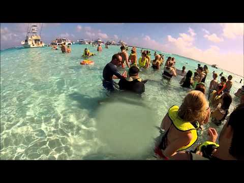 Stingray City Sandbar at Grand Cayman Islands - 01-10-13