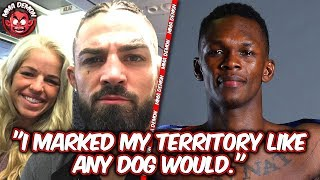 Mike Perry Explains Role GF Played; Israel Adesanya Talks Peeing in Cage