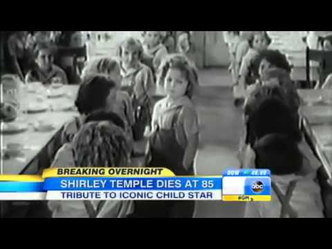 Shirley Temple Dies at 8