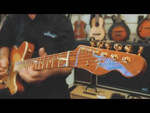 Fender Custom Shop Artisan Figured Mahogany Telecaster // The Vault // Music Planet NZ