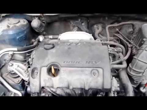 Что стучит в двигателе Hyundai elantra J4 HD 1.6 at