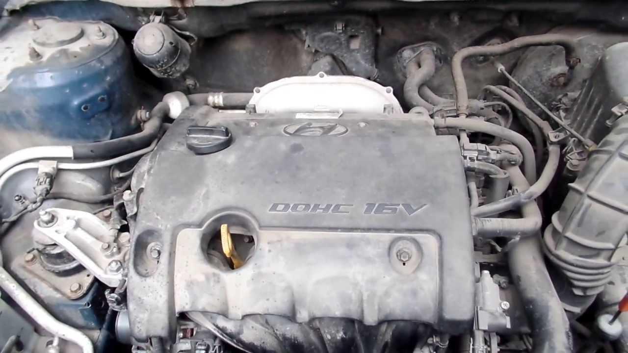 постукивание в двигателе hyundai elantra