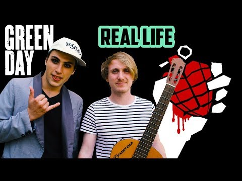 Green Day in REAL LIFE (#4 Pop punk songs)