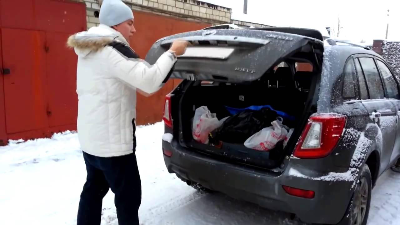Вся правда о крышке багажника Lifan X60