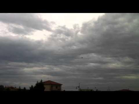 Aereo sul cielo di Parma