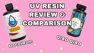 Testing and Comparing UV Resins: Qiao Qiao And DecorRom