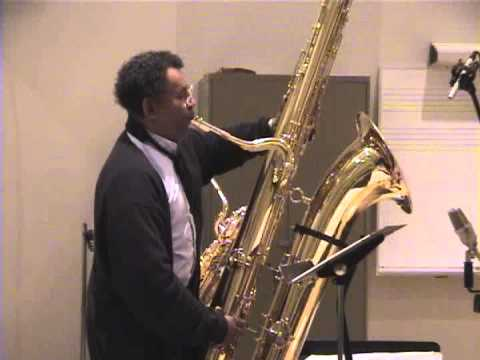 [part 4] Anthony Braxton & Brandon Evans [DUO] Elliptical Axis 15 (recording session) May 19th, 2000