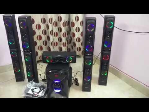 Zebronics 51 BT Dragon audio test  wwwTulipSmilecom MOB 9650722798