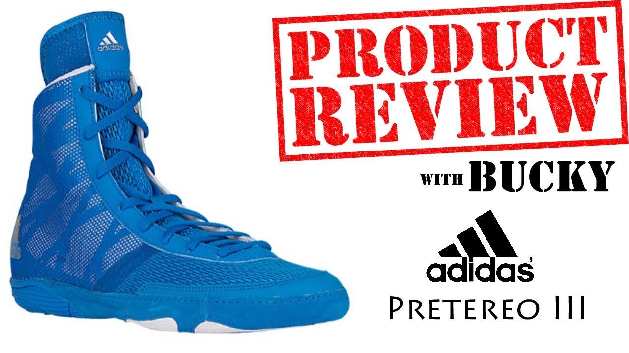 Adidas Pretereo III Wrestling Shoe Review