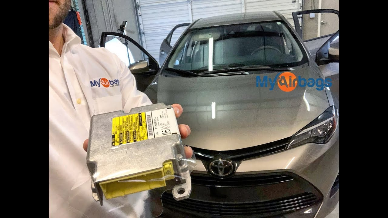 Toyota Corolla Airbag Srs Module Location Reset Myairbags Com Youtube