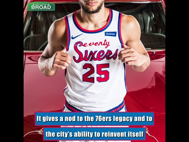 the latest 1ec77 af39b The Sixers Will Wear These Throwback Classic Edition Uniforms This Year |  Crossing Broad