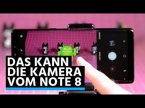 Samsung Galaxy Note 8: Kamera-Funktionen im Überblick