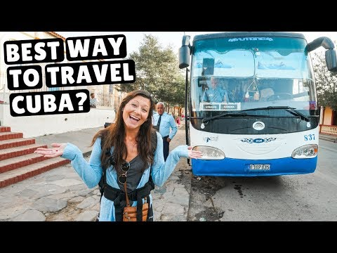 Traveling Cuba by Bus | Better than Taxis? Vinales to Havana