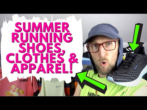 The best summer running shoes, gear and apparel. What to wear for warm weather training | eddbud