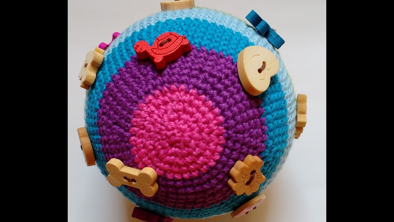 Вязание крючком - игрушки,шарики.Развивающие игрушки ...