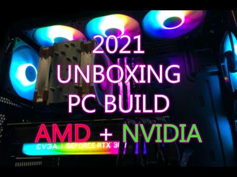 My First AMD PC Build   RTX 3080   2021   Kuwait