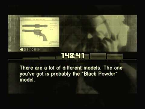 Metal Gear Solid 3 - Sigint - Colt Single Action Army