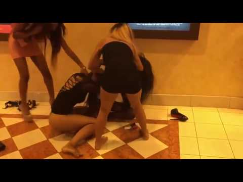Women fighting in the movie theater INSANE GIRLS FIGHTS! ALL HOOD LIFE!