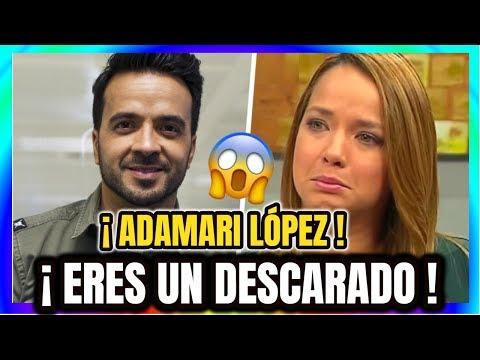😱¡ HACE UNOS MINUTOS ¡ ADAMARI LÓPEZ Recibe DURA CONFESIÓN DE Luis Fonsi HOY Ultimo Minuto !