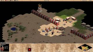 Age of Empires 1: 5th Legacy Mod - Egyptian Civilization Campaign Part #8 Gameplay