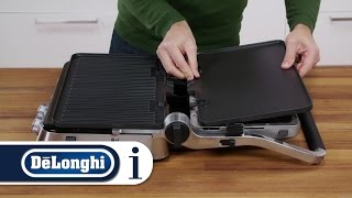 How to set up your De'Longhi CGH1012D, CGH1020D or CHG1030D MultiGrill for the first time
