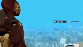 Iron Man in Grand Theft Auto: San Andreas
