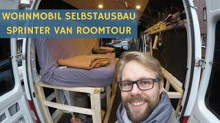 Wohnmobil Selbstausbau / Sprinter Van Roomtour: Baustellen & Dinge die ich jetzt anders machen würde