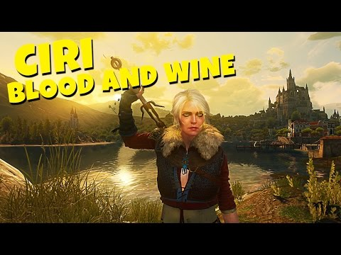 Playing as CIRI in The Witcher 3 Blood and Wine