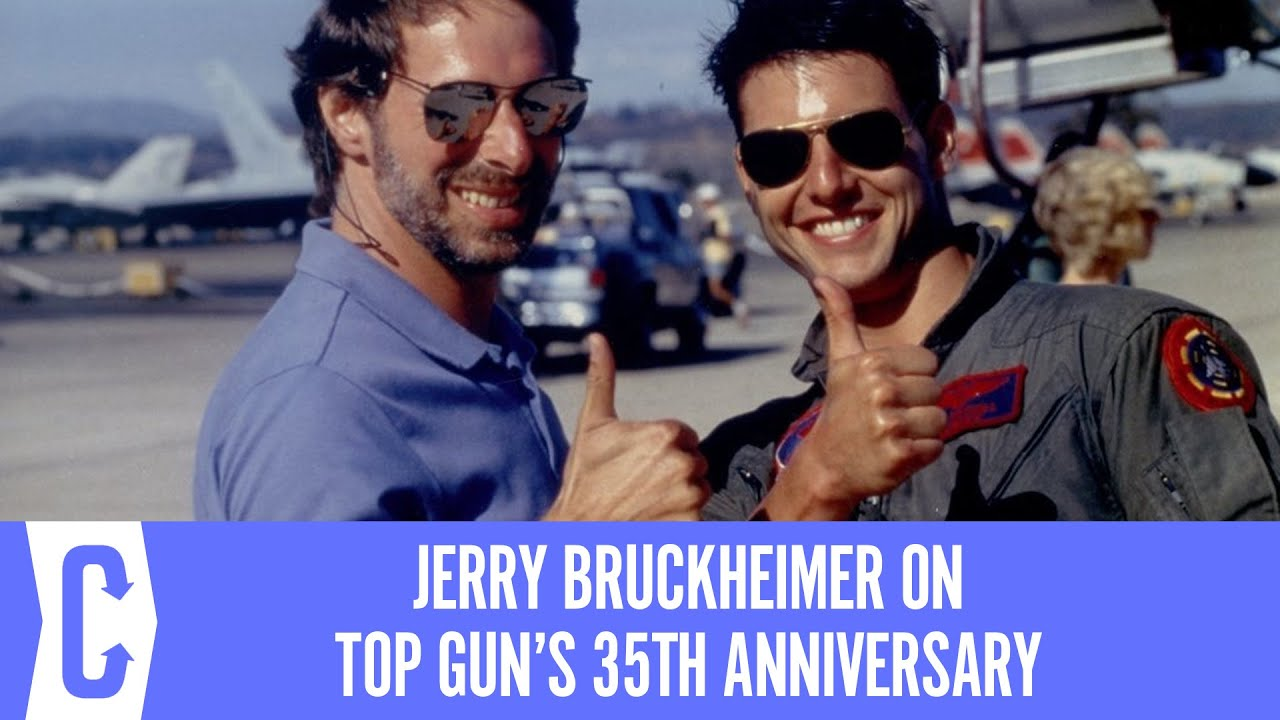 Jerry Bruckheimer on Top Gun's Enduring Appeal, Tom Cruise, and Tony Scott's Bold Vision