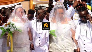 Patapaa & His German Wife Arrival At Their Wedding Reception