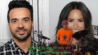 Luis Fonsi, Demi Lovato - Échame la Culpa (Karaoke Drum Cover by Timothy Liem) (with lyrics)