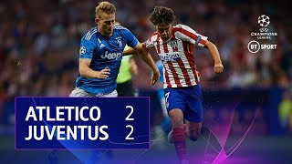 Atletico Madrid vs Juventus (2-2) | UEFA Champions League Highlights