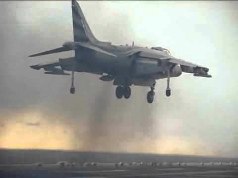 Harrier vertical takeoff