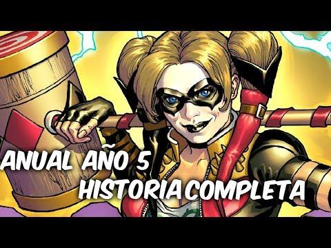 INJUSTICE Año 5 Anual Comic Narrado Completo Que paso con Harley, Ares y The Spectectre? @Comics Tj
