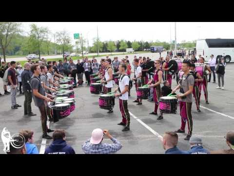 RCC Drum Line in the Lot | WGI 2017 Finals | Steve Weiss Music