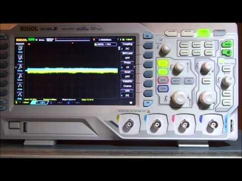#1 - Recensione oscilloscopio Rigol 1054Z -- revew series 1000Z ITA
