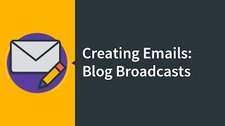 creating a blog broadcast email   aweber email marketing