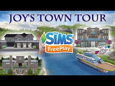 Sims FreePlay 🏙| JOY'S TOWN TOUR |🏙