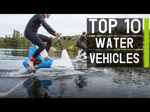 Top 10 Latest Watercraft & Water Vehicles for Summer Fun