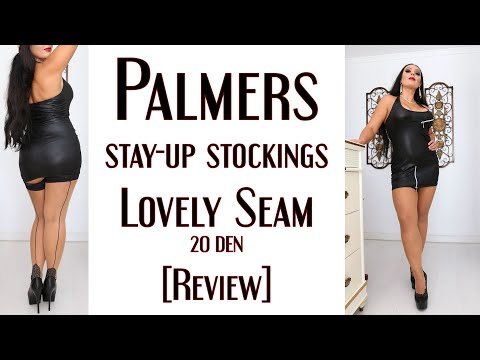 Palmers Lovely Seam 20 den stockings [review]