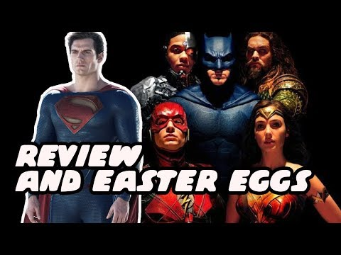 Justice League Movie Review And Easter Eggs! MAJOR DC Characters Revealed And Anti-Life Equation