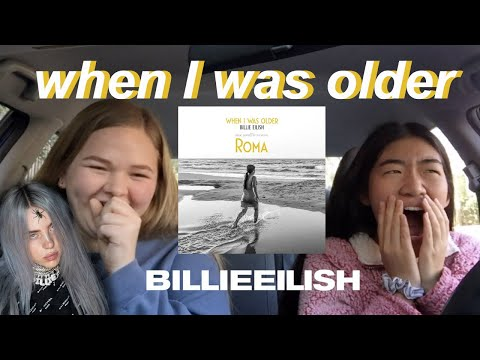 "REACTING to Billie Eilish's ""when I was older"""