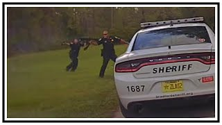 Shootout With Officers (Anthony Lee Hodges) | Dash Cam (Gordon) | United States | 20181007
