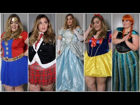 Plus-Size Halloween Costumes Haul & Try-On! Halloween 2017
