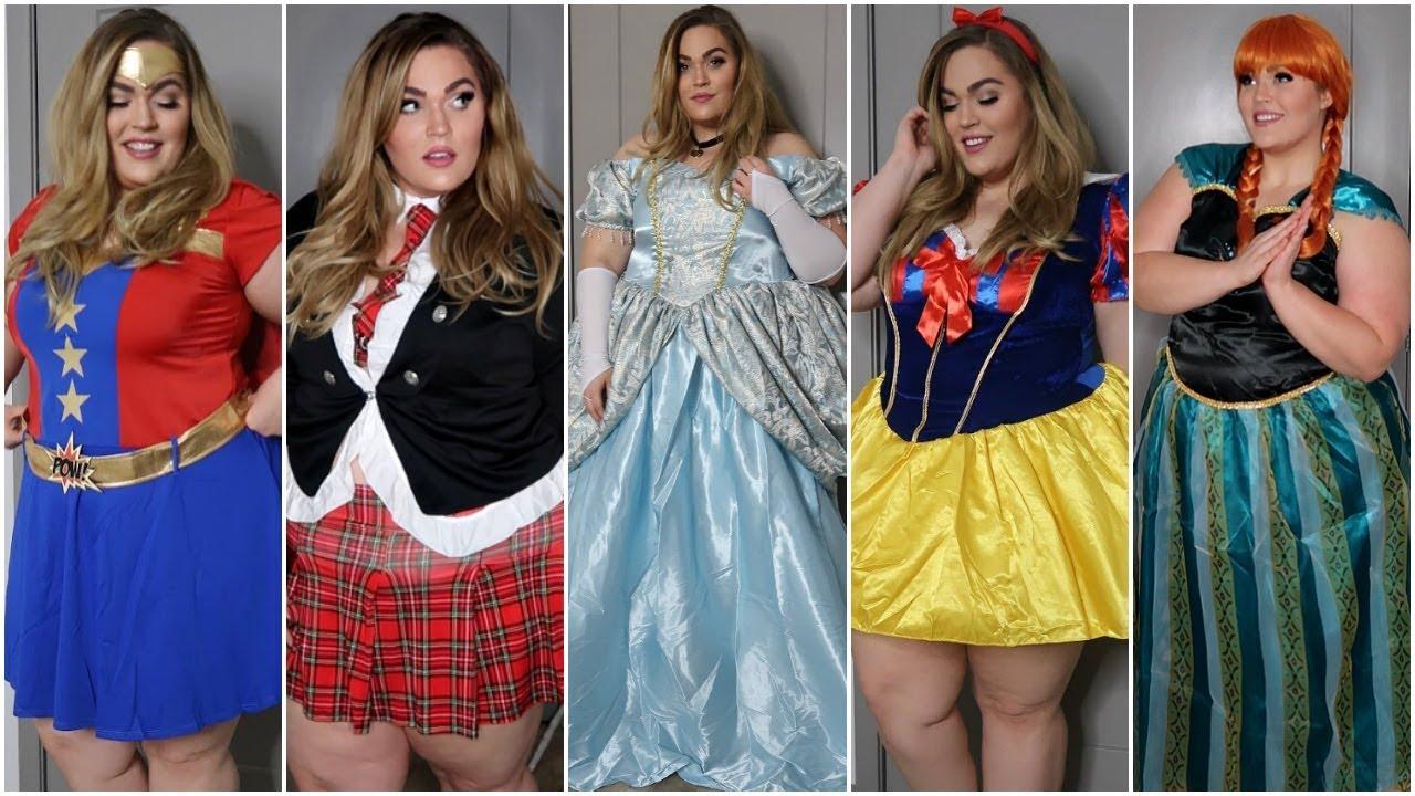 8d873d7eeac Plus-Size Halloween Costumes Haul   Try-On! Halloween 2017 - YouTube