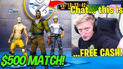 TFUE SCOPED INNOCENTS $500 WAGER! CLIX *200 IQ* PLAY in PRO MATCH! (Fortnite)