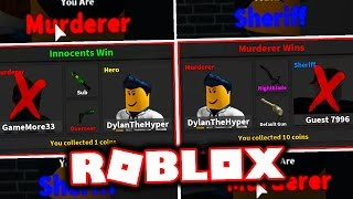 HOW TO WIN EVERY ROBLOX MURDER MYSTERY 2 ROUND EVER!!!