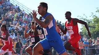 DJ Ware - Arizona 100 Meter State Champion 2015